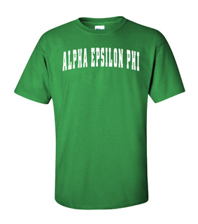 Alpha Epsilon Phi Letterman T-Shirts