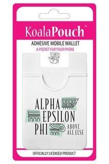 Alpha Epsilon Phi Logo Koala Pouch