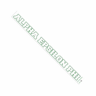 Alpha Epsilon Phi Long Window Decals Stickers