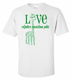 Alpha Epsilon Phi Love Mascot T-Shirt