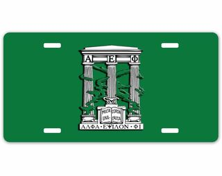 Alpha Epsilon Phi Crest - Shield License Plate