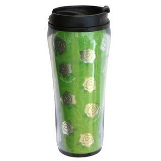 Alpha Epsilon Phi Metallic Travel Mug