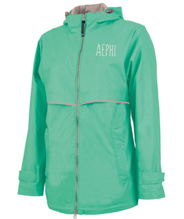 Alpha Epsilon Phi New Englander Nickname Rain Coat