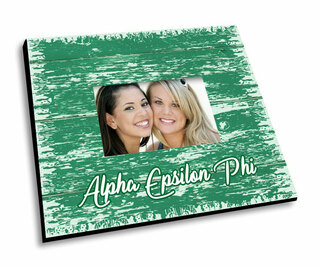 Alpha Epsilon Phi Painted Fence Picture Frame
