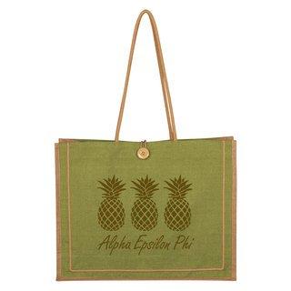Alpha Epsilon Phi Paradise Jute Bag