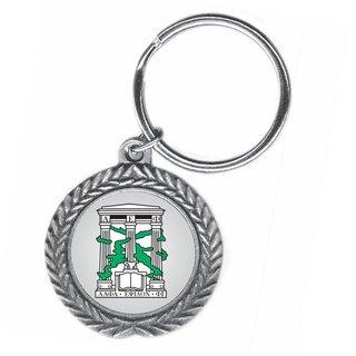 Alpha Epsilon Phi Pewter Key Ring