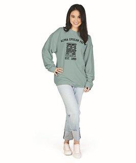 Alpha Epsilon Phi Camden Crewneck Sweatshirt