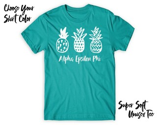 Alpha Epsilon Phi Pineapple Tee