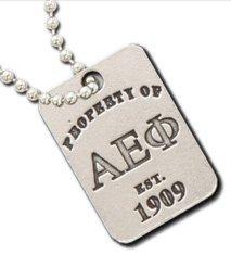 Alpha Epsilon Phi Property Of Tag