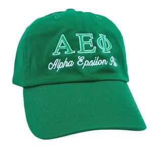 Alpha Epsilon Phi Script Cap