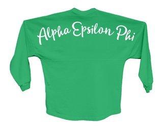 Alpha Epsilon Phi Script Jersey