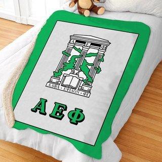 Alpha Epsilon Phi Sherpa Lap Blanket