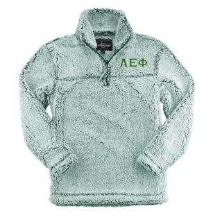 Alpha Epsilon Phi Sherpa Quarter Zip Pullover