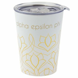 Alpha Epsilon Phi Short Coffee Tumblers