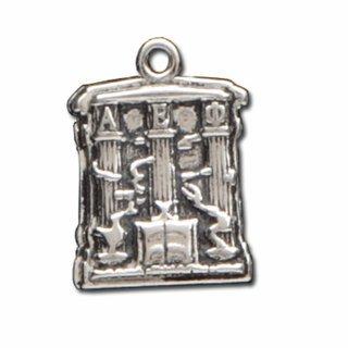 Alpha Epsilon Phi Silver Crest - Shield Charm