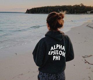Alpha Epsilon Phi Social Hoodie
