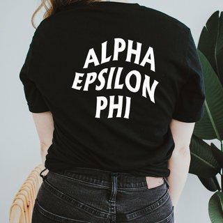 Alpha Epsilon Phi Social Tee