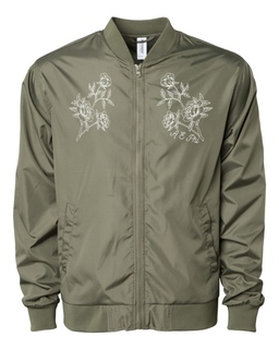 A E Phi Sorority Bomber Jacket