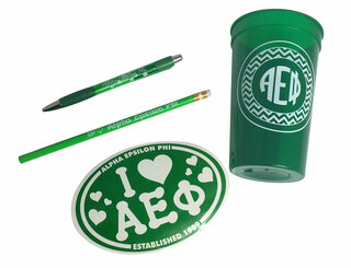 Alpha Epsilon Phi Sorority Love Set $8.95