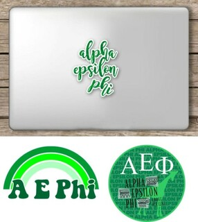 Alpha Epsilon Phi Sorority Sticker Collection - SAVE!