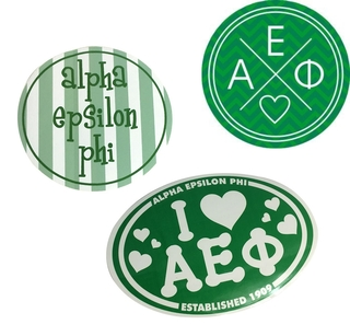 Alpha Epsilon Phi Sorority Sticker Collection $5.95