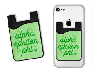 Alpha Epsilon Phi Star Card Caddy