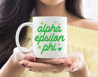 Alpha Epsilon Phi Star Mug