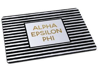 Alpha Epsilon Phi Striped Mousepad