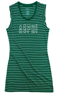 Alpha Epsilon Phi Striped Tee Dress