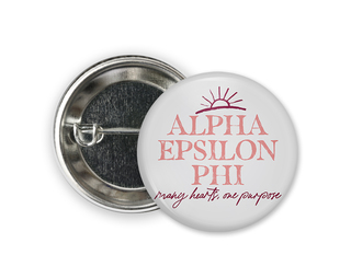 Alpha Epsilon Phi Sun Button