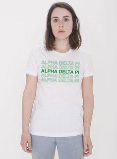 Alpha Epsilon Phi Thank You For Shopping Tee - Comfort Colors