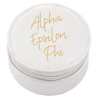 Alpha Epsilon Phi Travel Round Case
