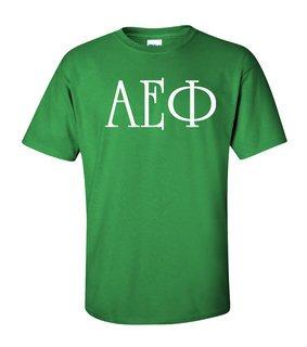 Alpha Epsilon Phi University Greek T-Shirts