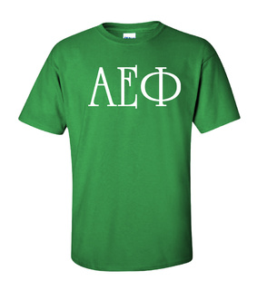 Alpha Epsilon Phi University Greek T-Shirts