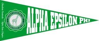 Alpha Epsilon Phi Wall Pennants