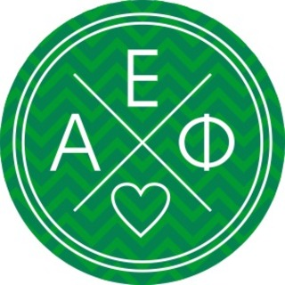 Alpha Epsilon Phi Well Balanced Round Decals