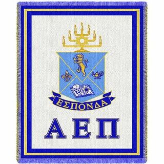 Alpha Epsilon Pi Afghan Blanket Throw