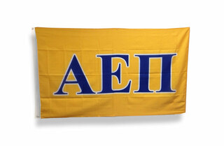 Alpha Epsilon Pi Big Greek Letter Flag