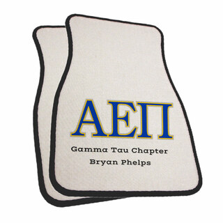 Alpha Epsilon Pi Car Mats