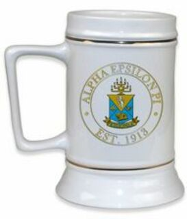 Alpha Epsilon Pi Ceramic Stein