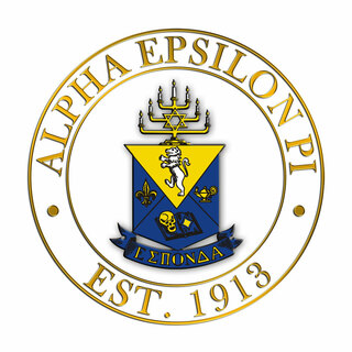 Alpha Epsilon Pi Circle Crest - Shield Decal