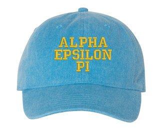 Alpha Epsilon Pi Comfort Colors Pigment Dyed Baseball Cap