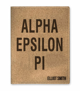 Alpha Epsilon Pi Cork Portfolio with Notepad