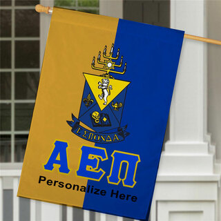 Alpha Epsilon Pi Crest House Flag