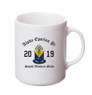 Alpha Epsilon Pi Crest & Year Ceramic Mug