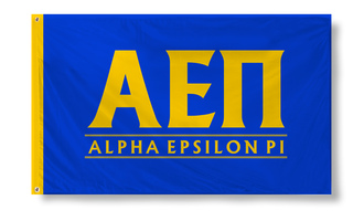 Alpha Epsilon Pi Custom Line Flag
