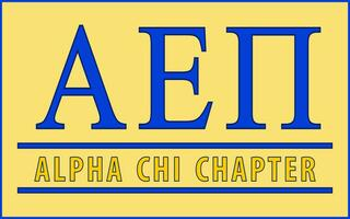 Alpha Epsilon Pi Custom Line Sticker Decal