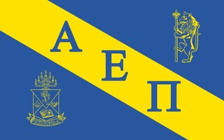 Alpha Epsilon Pi Flag Decal Sticker