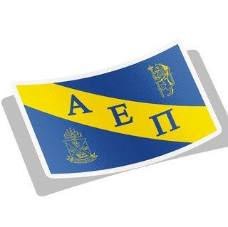 Alpha Epsilon Pi Flag Decal Sticker