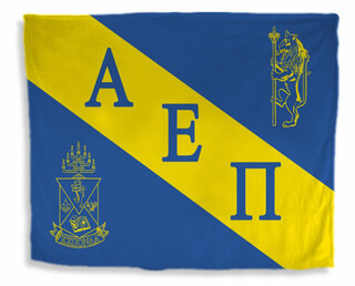 Alpha Epsilon Pi Flag Giant Velveteen Blanket